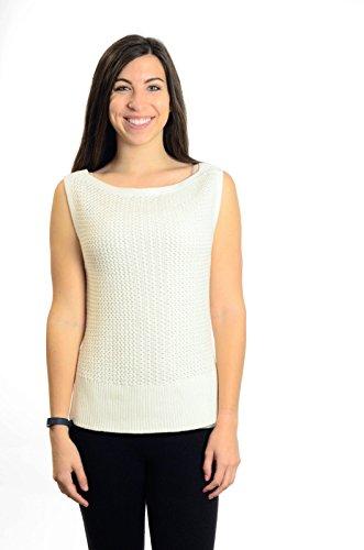 Banana Republic Sleeveless Sweater, White, (Banana Republic Sleeveless)