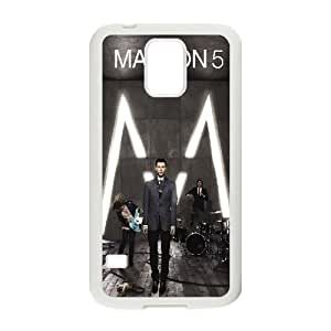 C-EUR Customized Print Maroon 5 Hard Skin Case Compatible For Samsung Galaxy S5 I9600 by icecream design