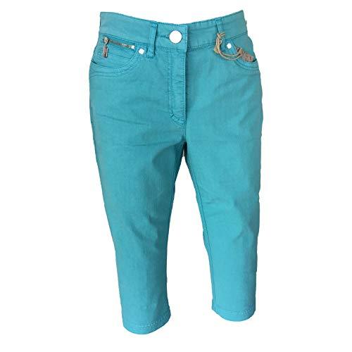 Jeans Donna 32 Zerres Capri Aqua dqxnEXP