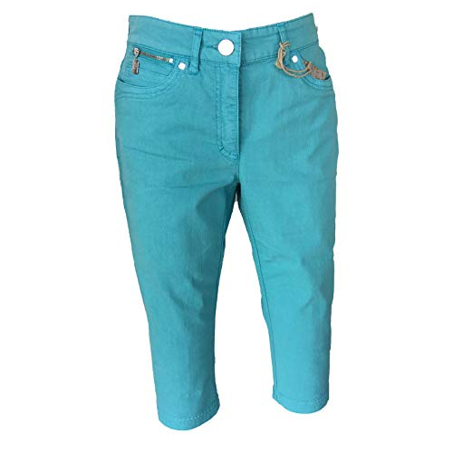 Zerres - Jeans - Capri - Femme W36 32 / Aqua