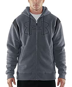 Under Armour Men's UA Sherpa Big Logo Full Zip Hoodie (XX-Large, Wire)