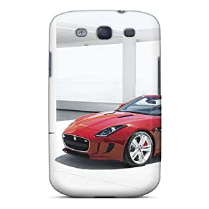 For Galaxy S3 Protector Case Jaguar F Type 2014 Phone Cover