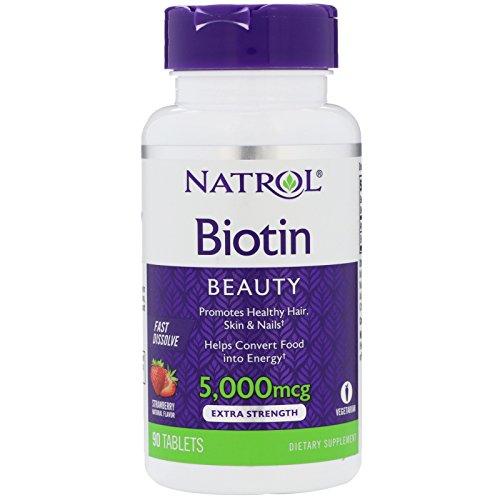 Natrol Biotin Fast Dissolve Tablets
