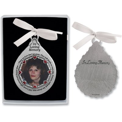 Cathedral Art CO753 In Loving Memory Picture Frame Ornament, 2-3/4-Inch ()