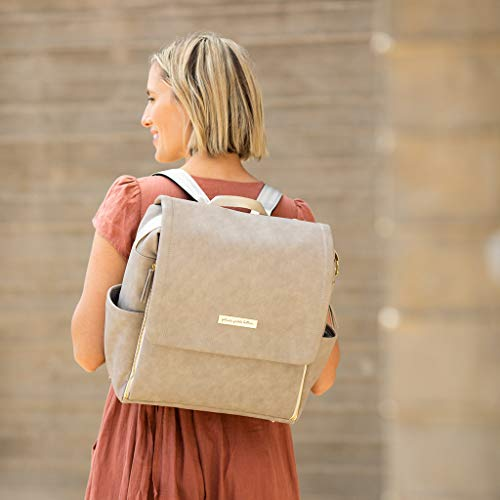 Petunia Pickle Bottom Boxy Backpack, Grey Matte Leatherette by Petunia Pickle Bottom (Image #5)