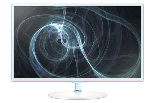 Samsung Simple LED 27-Inch Monitor, White with Blue TOC F...