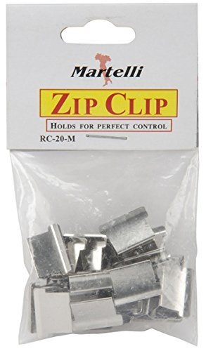 Martelli RC20M Zip Gun Zip Clips Medium 20-Pkg
