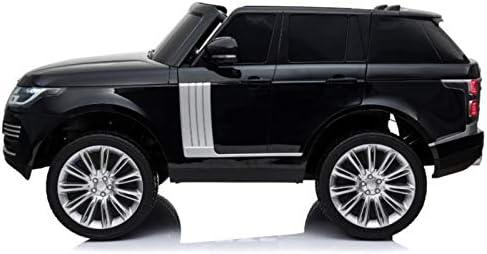 Indalchess Range Rover Autobiography HSE 12V, Infantil, 2 plazas, Negro Metalizado, 2.4ghz RC Parental
