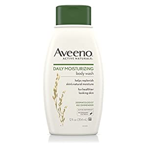 Aveeno Daily Moisturizing Body Wash, 12 Fl. Oz (Pack of 3)