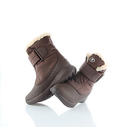 Tecnica - Catrine Velcro Tcy WS - 26010700003 - Color: Rojo burdeos - Size: 36.0