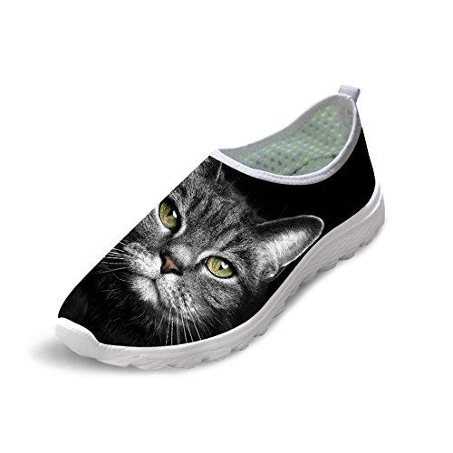 Bigcardesigns Womens Cute Cat Casual Athletic Walking Scarpe Da Corsa 36