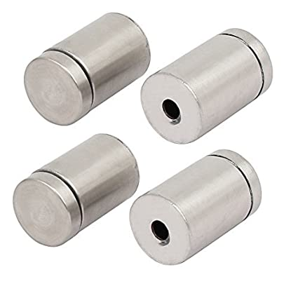 eDealMax 19 mm Diámetro 30 mm Longitud de acero inoxidable ...