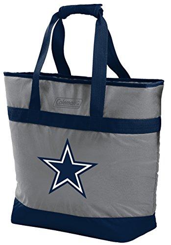 NFL Dallas Cowboys Unisex LP0757NFL 30 Can Tote Cooler, Blue, Adult