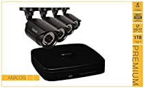 Q-see 4-channel 960h Digital Video Recorder with 4 X 700 TVL Cameras and Pre-installed 1tb Hard Drive