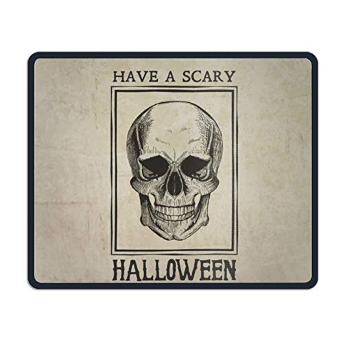 Customized Non-Slip Rubber Mousepad Have A Scary Halloween Gaming Office Mouse Pad -