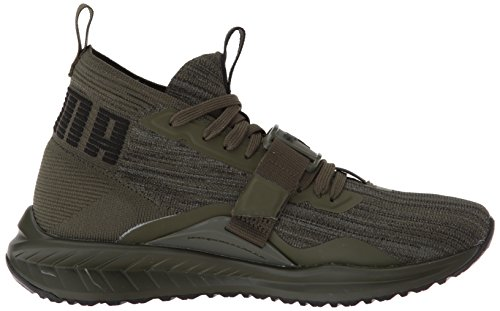 Puma Hombres Ignite Evoknit 2 Sneaker Forest Night-puma Black-quiet Shade