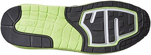 Nike Air Max Lunar1 Mens Running Shoes WHITE/BLACK-COOL GREY-VOLT 2014 online DZQRcgt