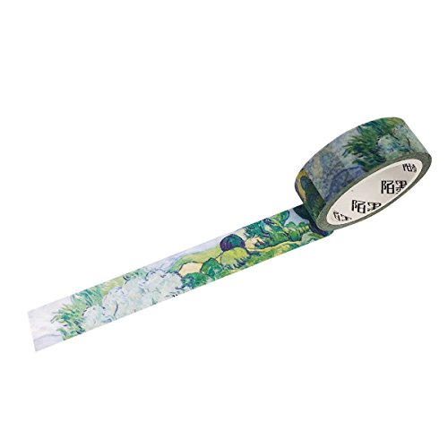 Wrapables Van Gogh Inspired Washi Masking Tape, Olive Tree ()
