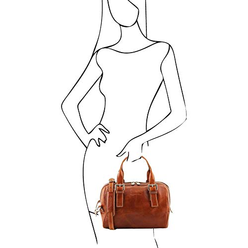 Toscana läder – Eveline – Sac à main scuir – Miel (TL141714)