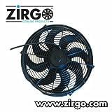 Zirgo 10221 14'' 2785 fCFM Ultra High Performance Radiator Cooling Fan