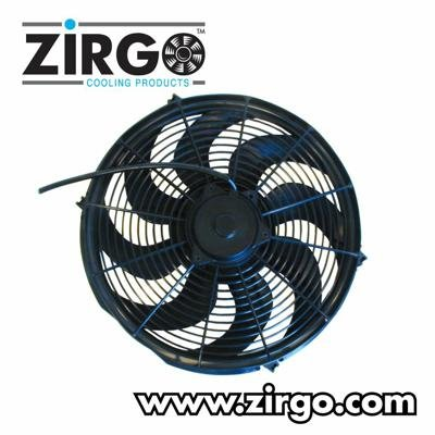 Zirgo 10221 14'' 2785 fCFM Ultra High Performance Radiator Cooling Fan by Zirgo
