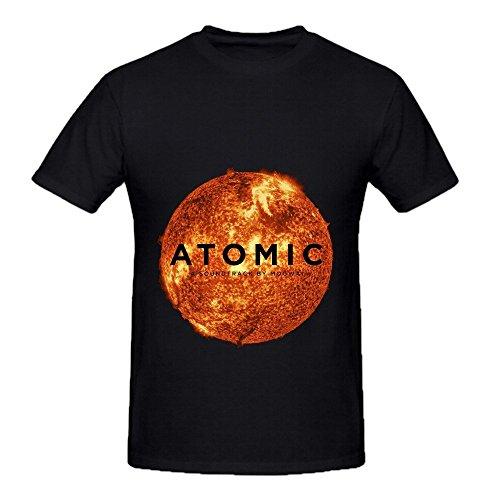 Price comparison product image Mogwai Atomic Funk Mens O Neck Design T Shirts Black