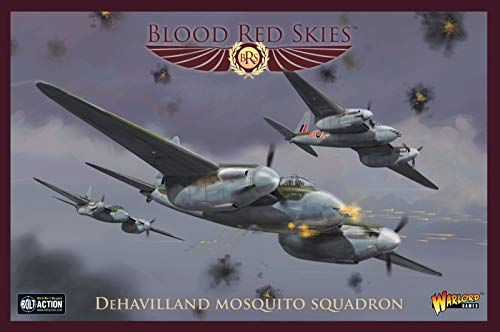 Engine Twin Mosquito (Blood Red Skies DeHavilland Mosquito Squadron 1:200 WWII Mass Air Combat War Game)