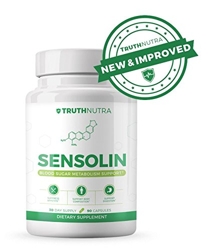 Sensolin – All Natural Blood Sugar Support Supplement to Help Control Insulin Resistance *New & Improved*