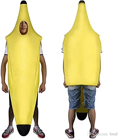 Banana Bananaman Fancy Dress Costume - Ideal Stag Night (disfraz ...