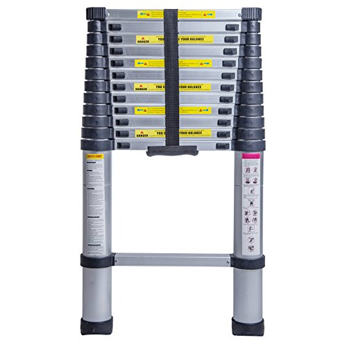 Light Aluminium Step Ladder in US - 4