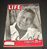 img - for Life Magazine - September 18, 1950, Pinza Cover book / textbook / text book