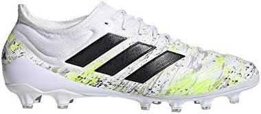 adidas Copa 20.1 AG, Scarpe da Calcio Uomo, Ftwr White/Core Black/Signal Green, 39 1/3 EU