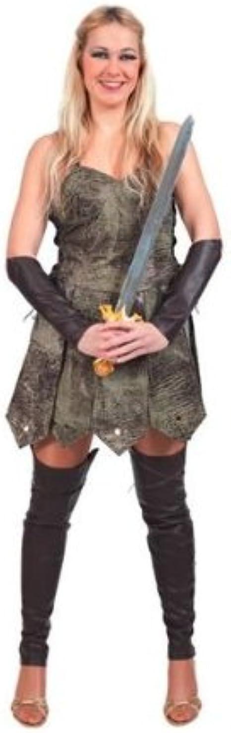 Romano Disfraz Guerrera Adulta: Amazon.es: Ropa y accesorios