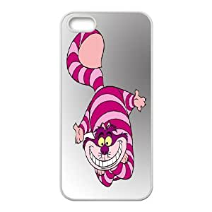 JenneySt Phone CaseAlice and Cheshire Cat Pattern For Apple Iphone 5 5S Cases -CASE-2