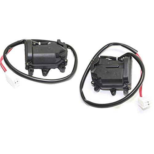 Door Lock Actuator Set for 2003 Mazda Protege Rear Left and Right Side