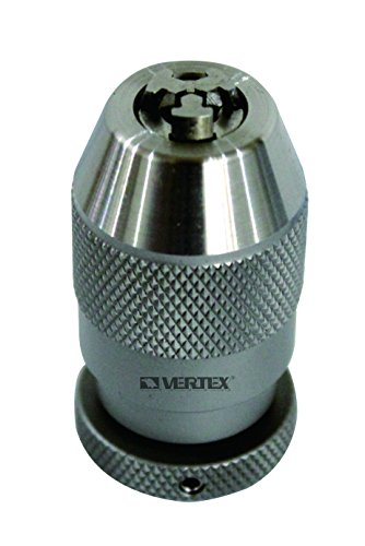 HHIP 3700-0267 1/64-1/4'' Jt1 Stainless Steel Keyless Drill Chuck by HHIP