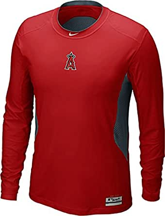the best attitude c1698 71c4e Amazon.com: Nike Los Angeles Angels Anaheim MLB Hypercool ...