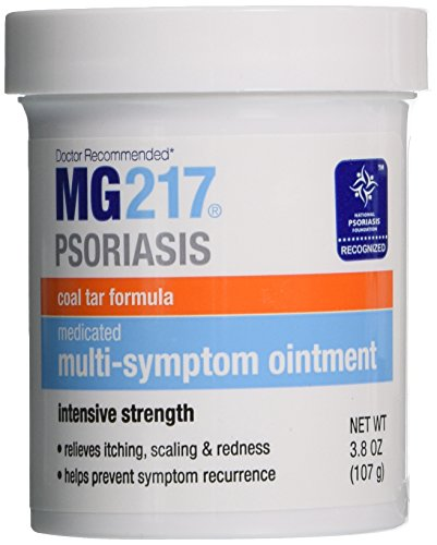 Mg217 Medicated Tar Ointment Intensive Strength Psoriasis Treatment  3 8 Ounce