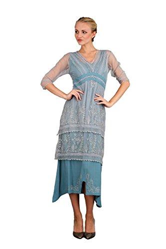 Nataya 5901 Women's Titanic Vintage Style Wedding Dress in Sunrise (3X)