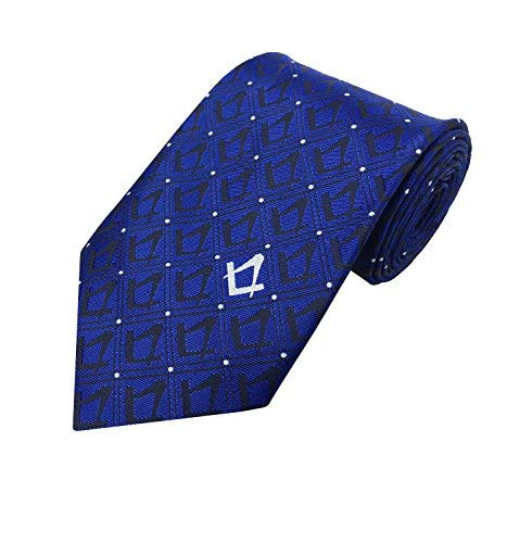 Compass Gift NT020 Square Masonic Masons Regalia Craft with Blue Necktie Lodge vPxzSH0wq