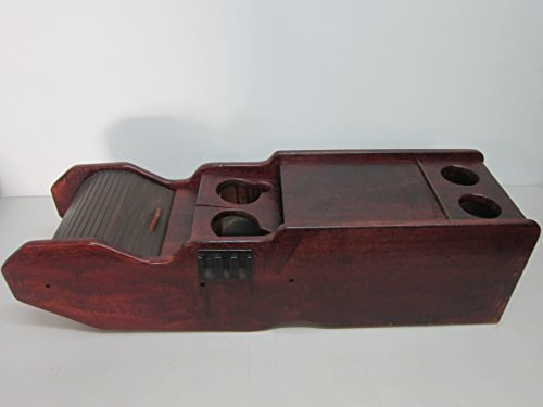 92 93 94 95 96 FORD F150 F250 F350 WOOD CENTER CONSOLE COOLER CUP HOLDER OEM