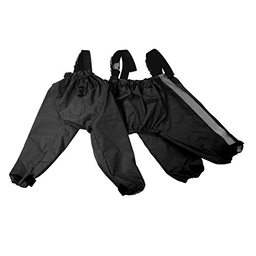 FouFou Dog 62564 Bodyguard Protective All-Weather Dog Pants, Large, Black by FouFou Dog