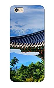 Catenaryoi Top Quality Rugged Naksansa Temple South Korea Case Cover Deisgn For Iphone 6 Plus For Lovers
