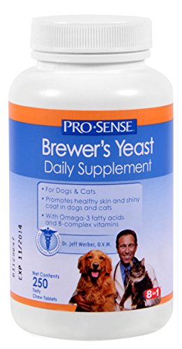 (Pro-Sense Skin and Coat Solutions, 250 Tablets)