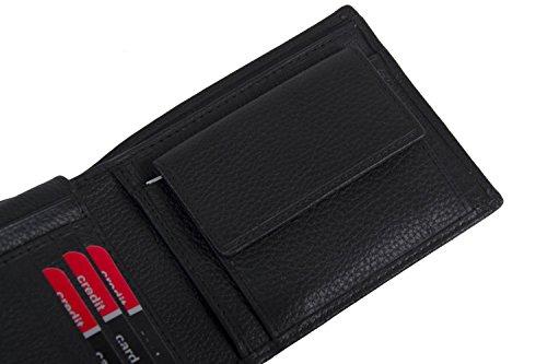 Portafoglio Nero Patta Con Uomo Cardin E Pelle Pierre In Portamonete A5511 aq7RfaPxw