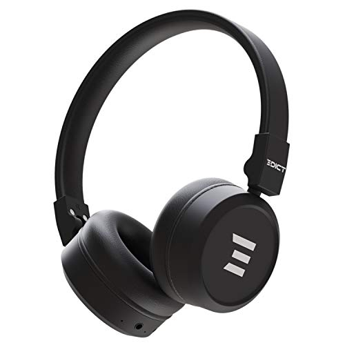 Edict by Boat EWH01 On-Ear Wireless Headphone with Punchy Bass, AUX Connectivity, Up to 10H Nonstop Audio Time, Lightwei