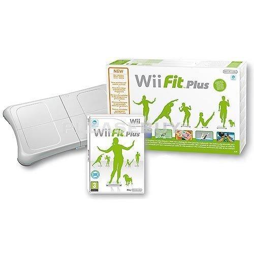 Wii Fit Plus with Balance Board (New, Brown Box Packaging)