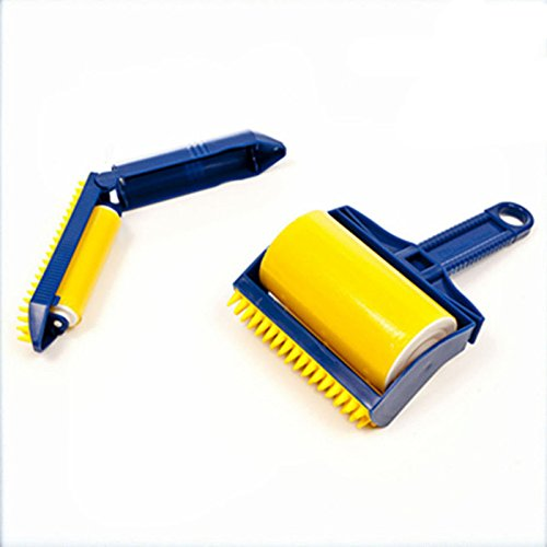 2PCS/set Reusable Sticky Buddy Picker Cleaner Lint Roller cat/dog Hair Remover Brush cleaning brush - Oakley Removal Lens