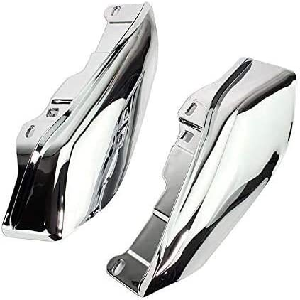 Nom Chrome Mat/ériel r QYA de Haute qualit/é Moto Accessoires Moto Heat Shield Chrome Mid-Frame D/éflecteur dair for Harley Touring Garniture Street Glide FLHX 2009-2016 2015 2014 2013 2012 11 Chrome