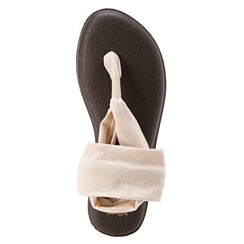 2 Yoga Gold Metallic Flop Women's Flip Sanuk Sling vZxwFSqnt